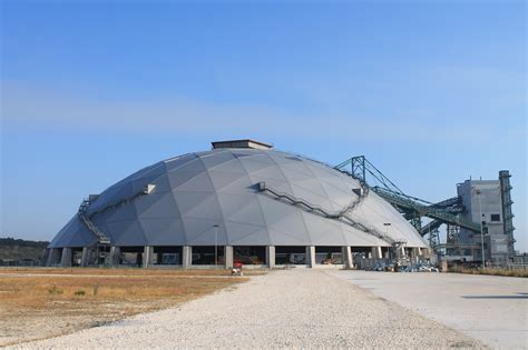 progetto cupola geodetica centrale enel di brindisi pronta la seconda cupola