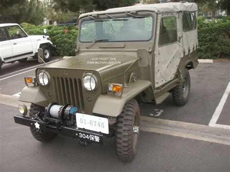 japanese military jeep militaryjeep com mitsubsihi jietai japanese military jeep