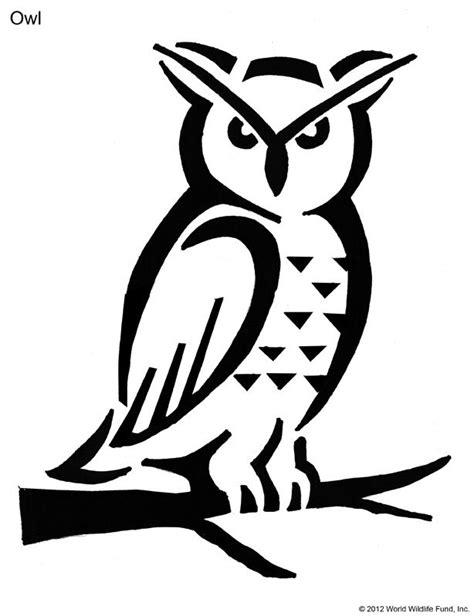 printable pumpkin stencils moana owl stencil printable coloring home
