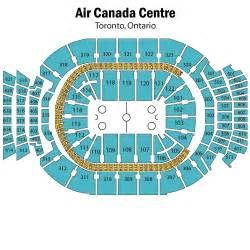 air canada center seat map leafs seating chart