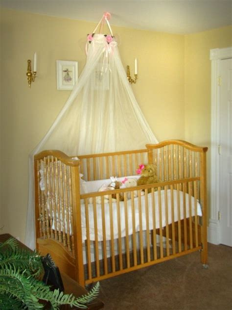Crown Canopy For Baby Crib Baby Bed Crib Canopy Crown White Sheers Included Sale Princess Pink Roses