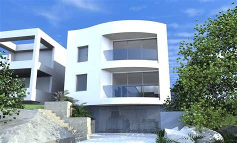 design concept homes canberra architect design 3d concept curve house queenscliff