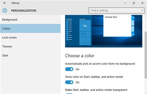 change taskbar color tutorial customize the windows 10 taskbar