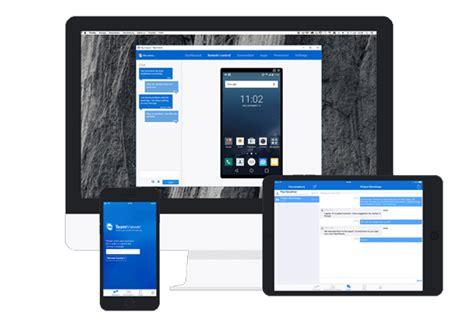 teamviewer mobile samsung teamviewer remote android ios piattaforma