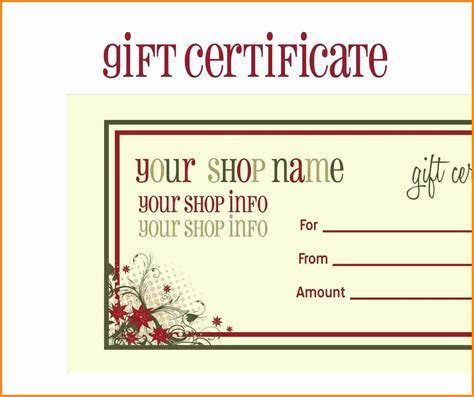 printable gift vouchers next car wash gift certificate template free gift ftempo