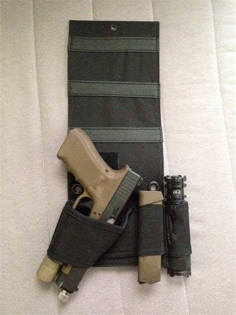 bed gun holster review be tactical s bedside holster the firearm