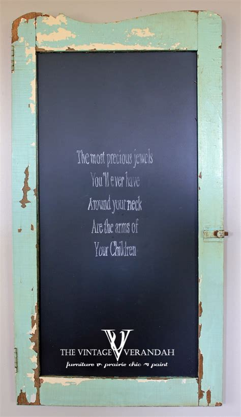 chalkboard paint for sale cabinet door with the original paint turned into a