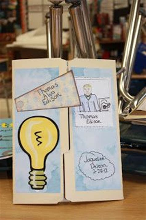 thomas edison biography for middle school book report projects on pinterest 17 pins