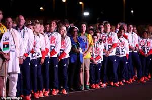 Jaslene Teams Up With Eves Line team gb officially welcomed to olympics 2016 on of