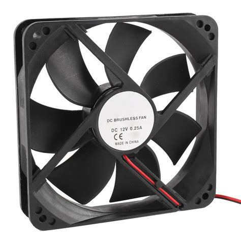 computer cooling fan not working 120mm x 25mm 12v 2pin sleeve bearing cooling fan for