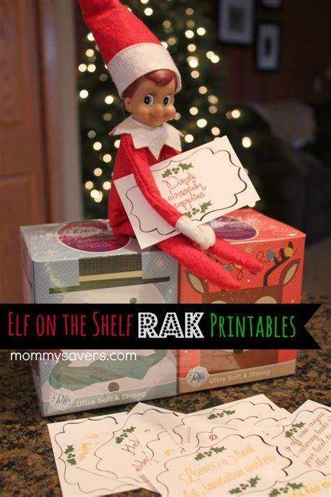 printable kindness elf ideas elf on the shelf printables kindness elf raks elf on