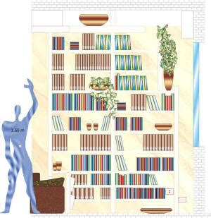 libreria pime esempio di progetto libreria a ripiani grande spessore