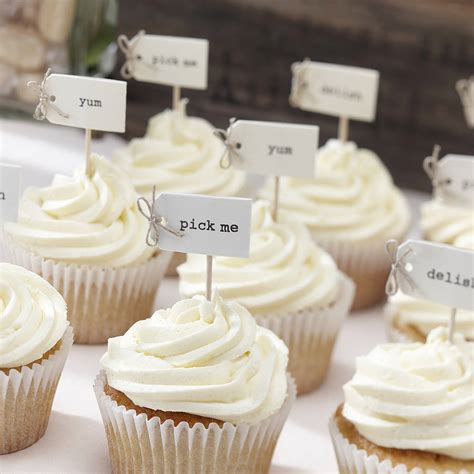 Cupcake Decorations by Vintage Style Cupcake Decorations By