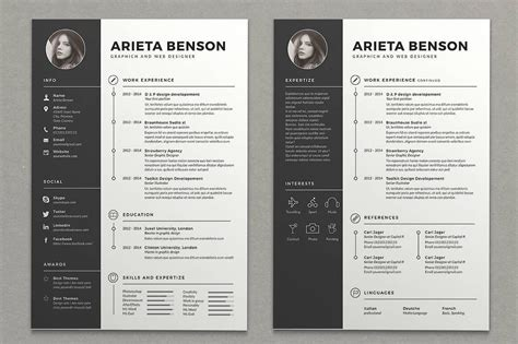 Cool Resume Designs by 15 Resume Design Ideas Inspirations Templates How To