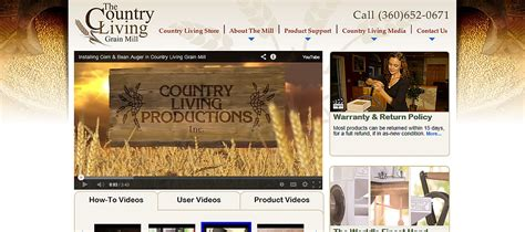 Bigcommerce Template For Country Living Mills Store Country Website Template