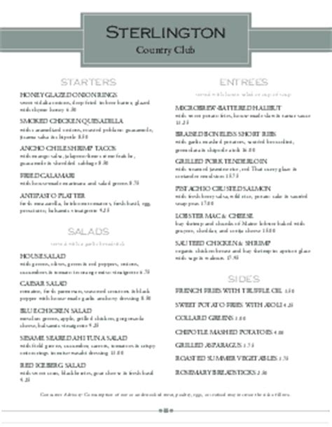 eildon boat club restaurant menu cafe menu templates cafe menu designs musthavemenus