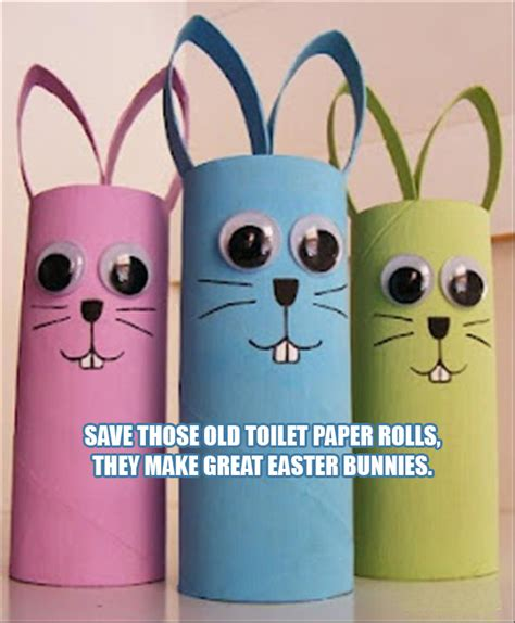 Easter Craft Ideas With Toilet Paper Rolls - a easter craft ideas from toilet paper rolls dump a day