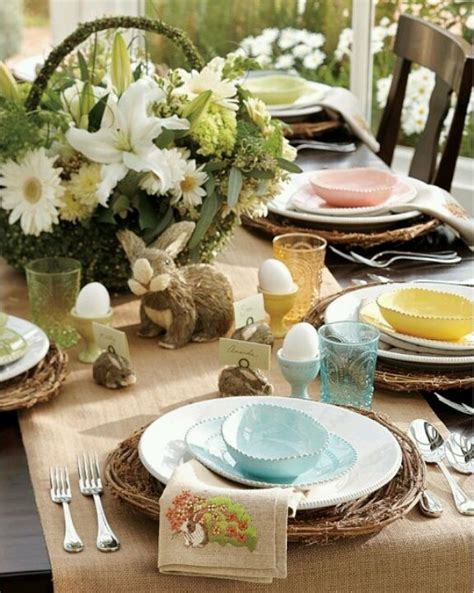 Pretty Table Decorations Beautiful Table Easter Decor