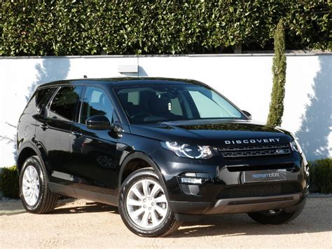 used land rover discovery for sale used santorini black land rover discovery sport for sale