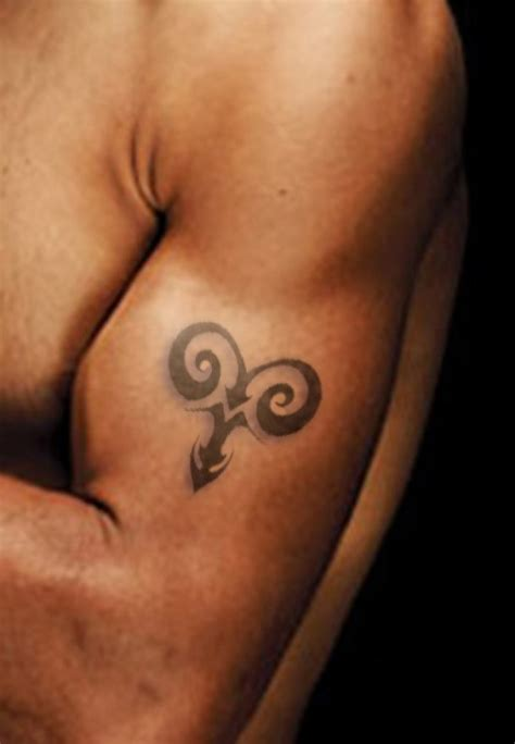 aries tribal symbol tattoo 50 best aries tattoos for amazing ideas