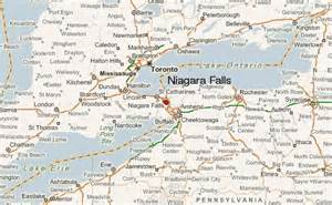 map of us and canada niagra falls niagara falls new york location guide