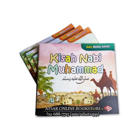 Amalan Harian Seorang Muslim Pustaka Ibnu Umar Rumah Dara kisah nabi muhammad edisi buku anak