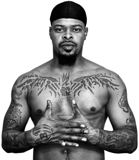 black ink kutt calhoun shows off his tatts