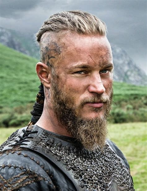 why did ragnar cut his hair vikings picture of travis fimmel