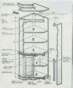 Building Plans For A Corner Curio Cabinet Woodwork Corner Curio Cabinet Woodworking Plans Plans Pdf