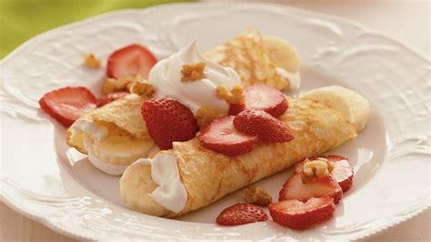 Vanilla Bean Cr 233 strawberry banana crepes recipe tablespoon