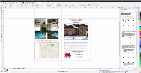 corel draw templates for brochures how to create a brochure template corel discovery center