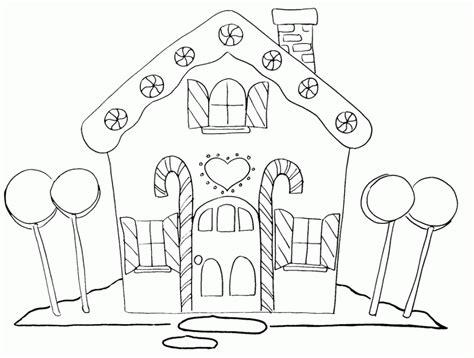 Free Printable Haunted House Template
