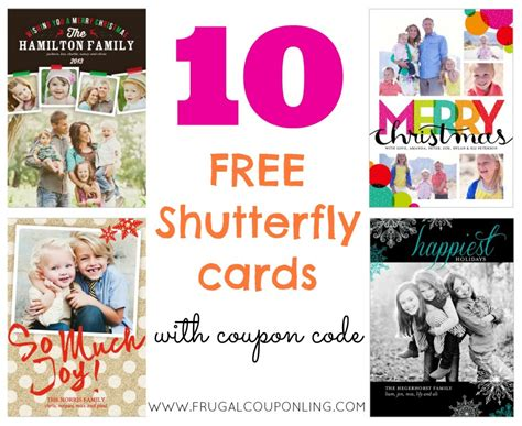 Where Can You Buy A Shutterfly Gift Card - rare 10 free shutterfly cards ends 11 26 christmas cards