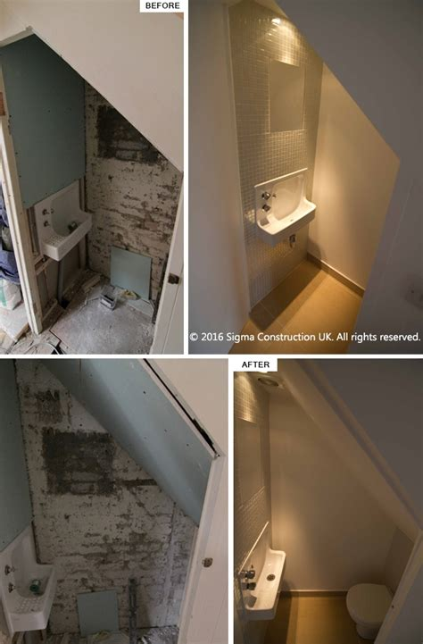 under stairs bathroom toilet under stairs understairs toilet wc