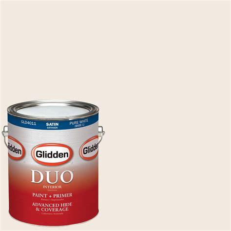 home depot paint eggshell finish glidden duo 1 gal hdgwn03 antique white satin