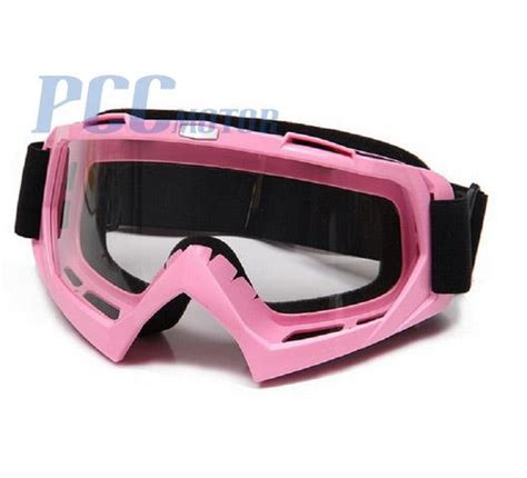 pink motocross goggles pink dirt bike atv motorcycle motocross goggles