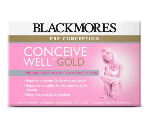 Blackmores Conceive Well Gold Original 1 Vitamins And Multivitamins Supplements From