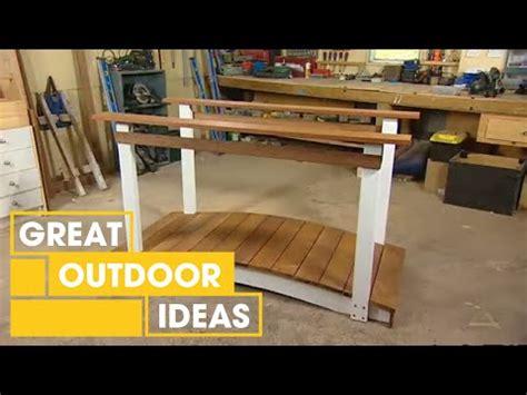how to build a garden bridge quarto homes building a footbridge easy plans diy free download rocking