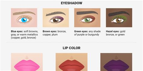the best makeup for your skin tone and eye color