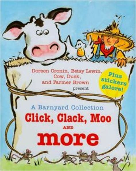 click clack moo i you a click clack book books a barnyard collection click clack moo and more by