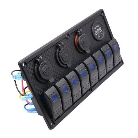 7 pin illuminated rocker switch wiring rocket switch
