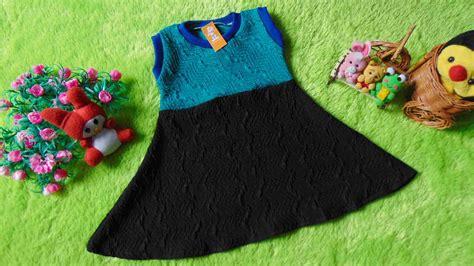 dress baju bayi anak perempuan 0 12bulan alisa textured