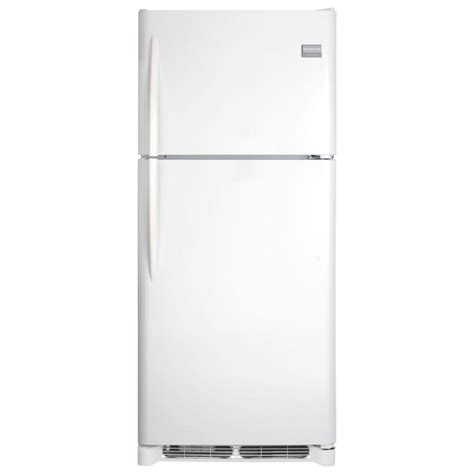 frigidaire 15 cu ft top freezer refrigerator in black