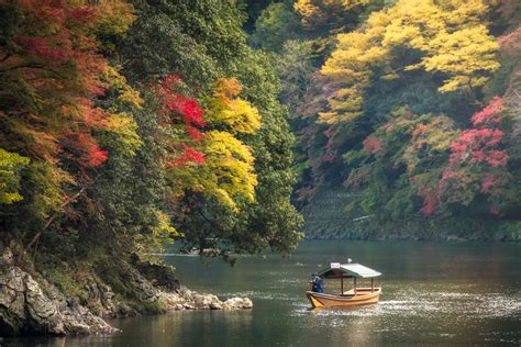 boat ride to japan hozugawa river boat ride in kyoto japan rail pass