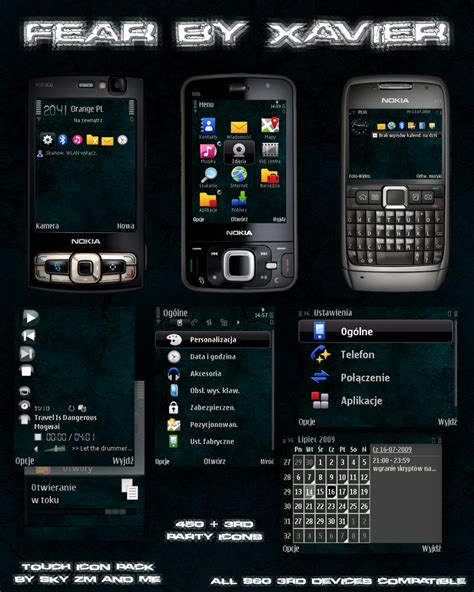 love themes for e71 fear symbian theme by xavier themes on deviantart