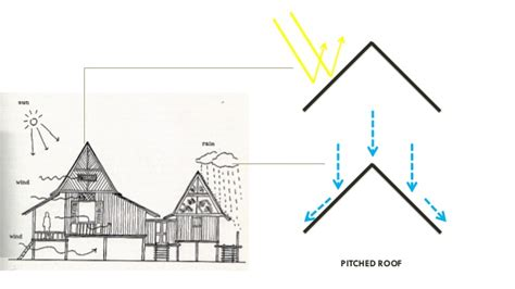 roof types single and double pitched roofs ekobustas presentation on flat roof double in safari roof house