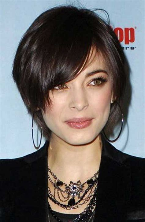 short haircuts for fine dark hair 15 cute short hairstyles for thin hair short hairstyles