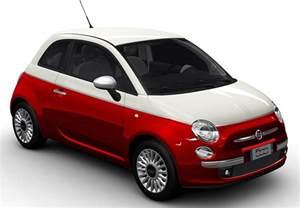 Fiat 500 Convertible Colours La Fiat 500 Pop Bi Color 1 2 69 Ch Stop Start 224 150