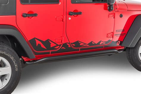 Quadratec Mountain Range Decals Jeep Wrangler Forum