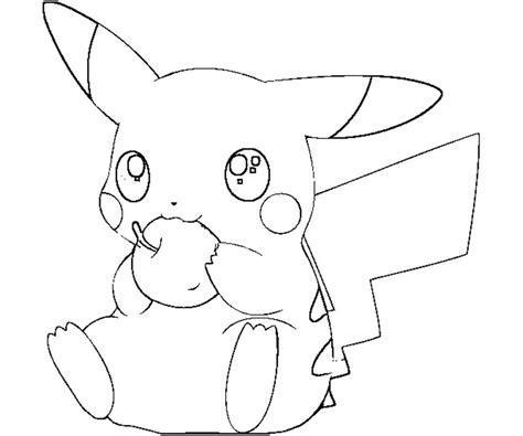 pikachu coloring pages ninja coloringstar
